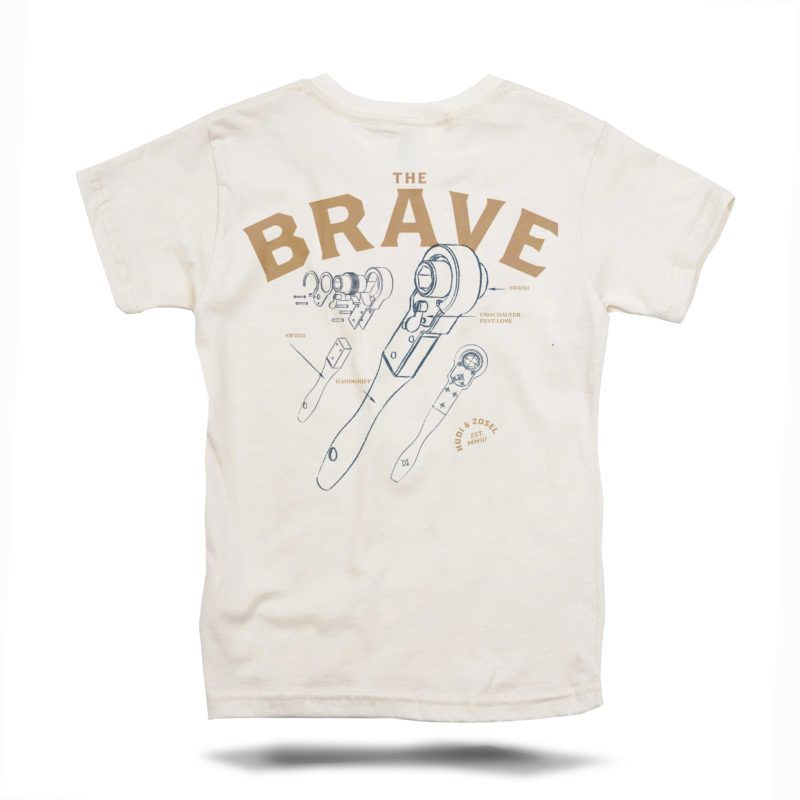 THE BRAVE TEE NATUR